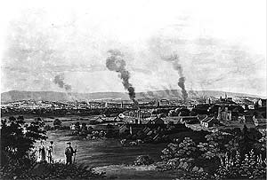 Glasgow from Coplawhill in 1824